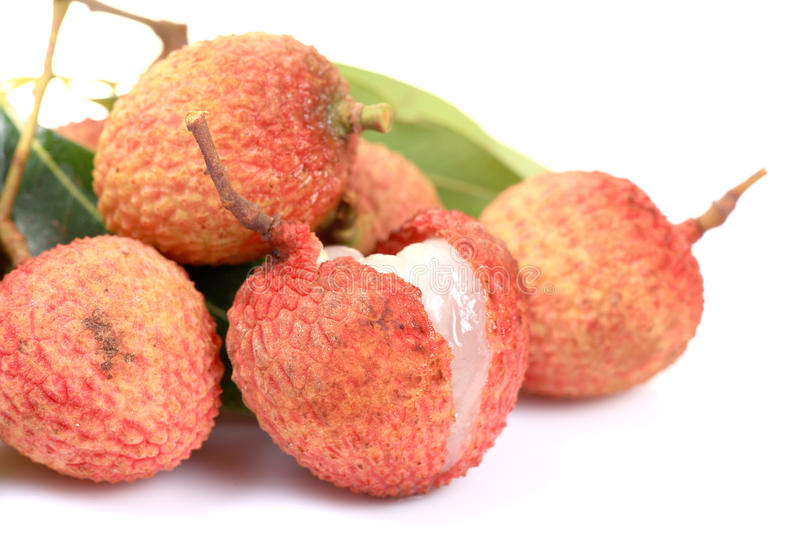 Download Ripe litchi fruit stock photo. Image of leechee, isolated - 20060612