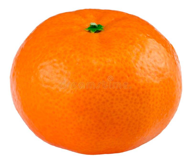 Ripe mandarin citrus isolated tangerine mandarine orange on whit royalty free stock image