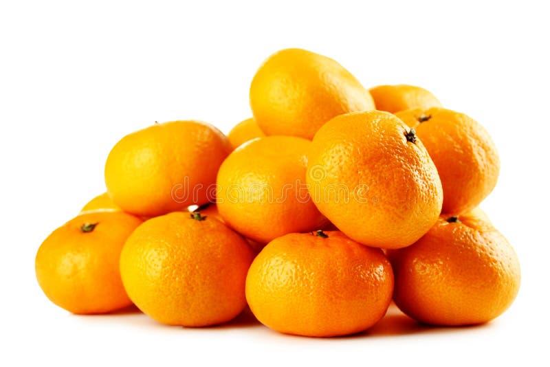 Ripe mandarins royalty free stock image
