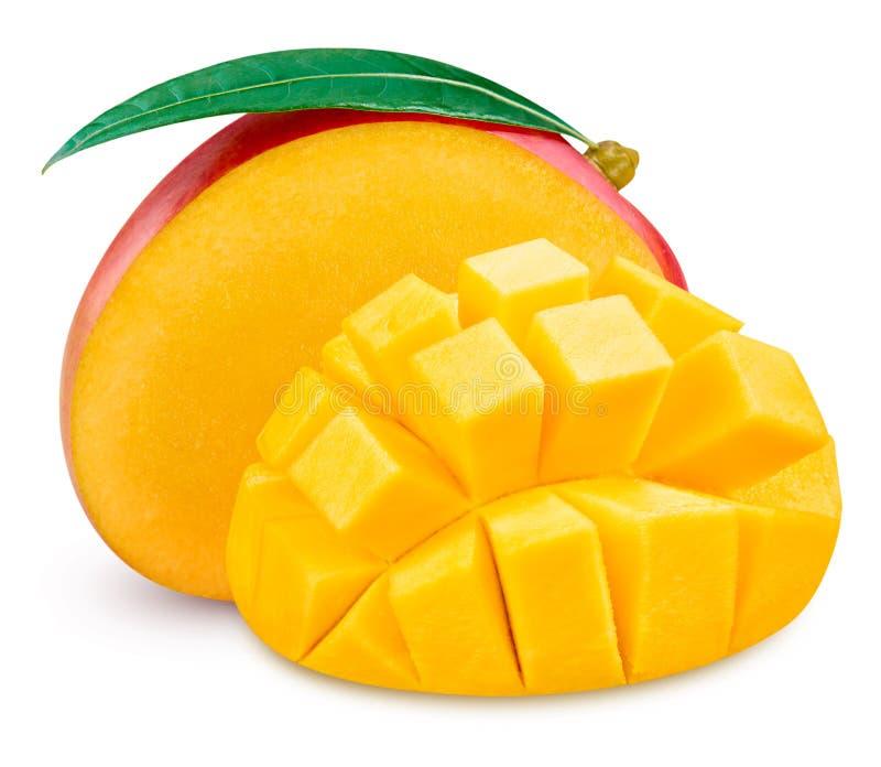 Ripe mango isolated royalty free stock photo