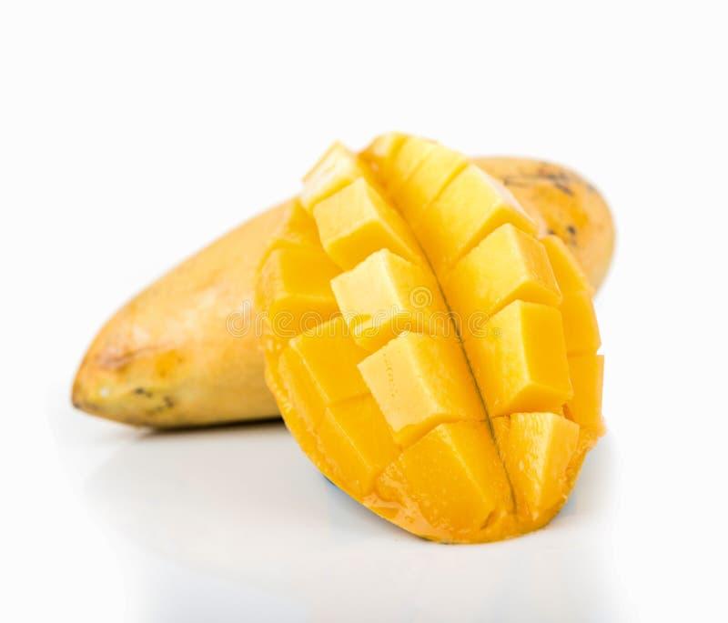 Ripe mango royalty free stock photography