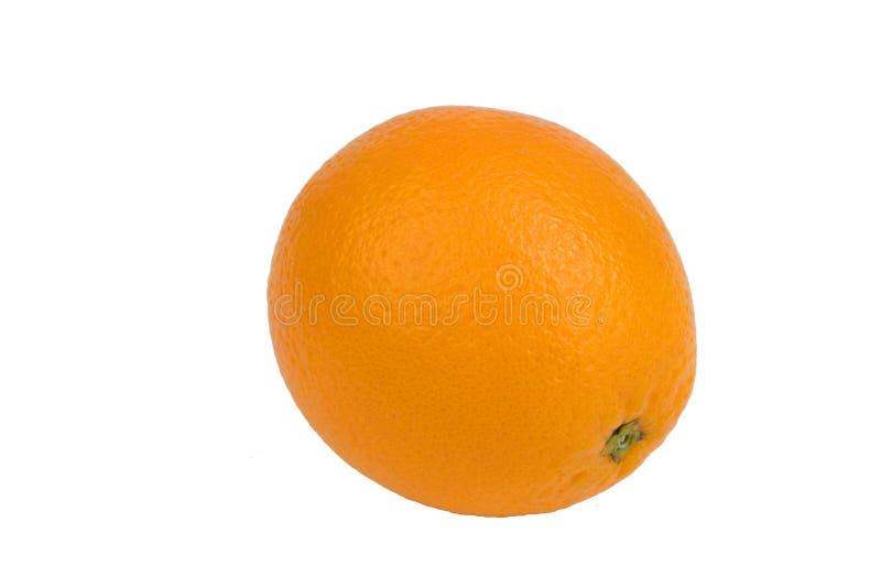 Ripe orange fresh orange, isolated on white background. royalty free stock images