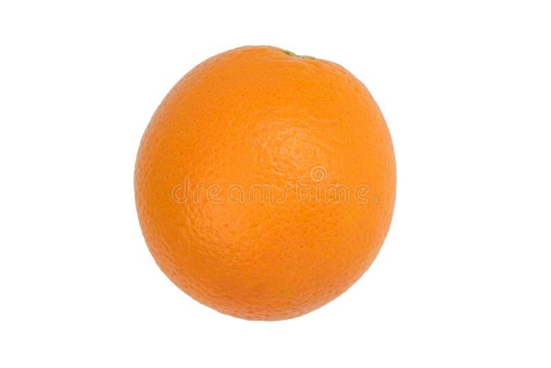 Ripe orange fresh orange, isolated on white background. stock image