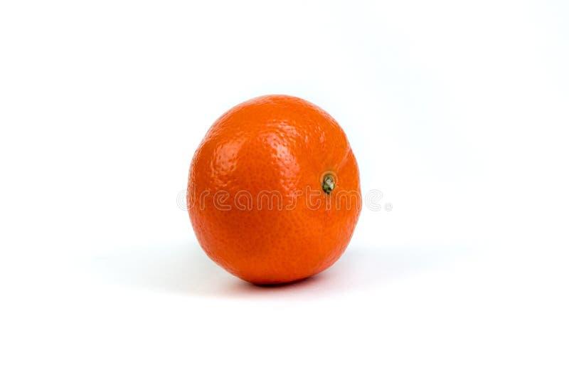 Ripe orange fresh mandarin, mandarin slices, isolated on white background. stock photography