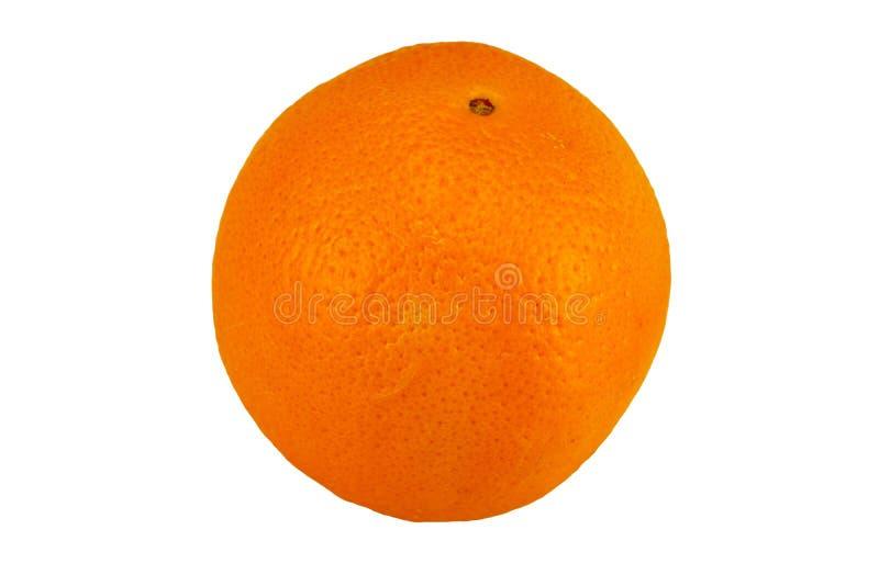 Ripe orange fruit isolated on white background. Concept health. royalty free stock images