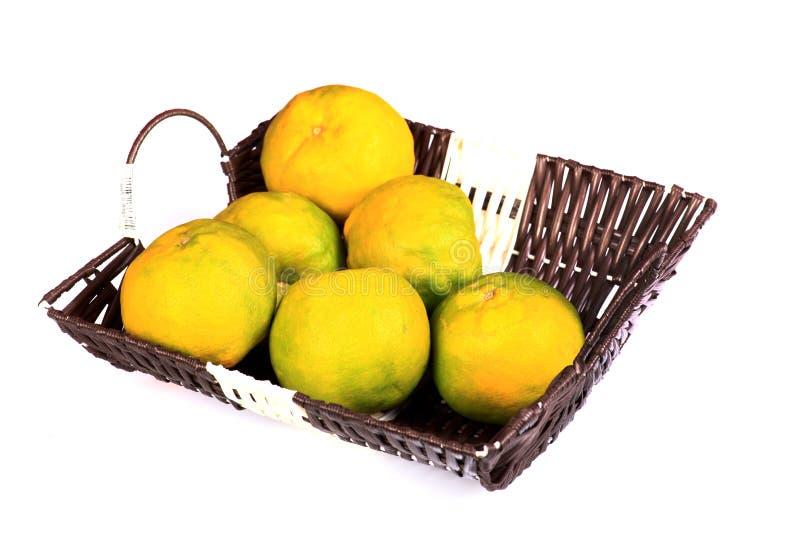Ripe oranges royalty free stock photography