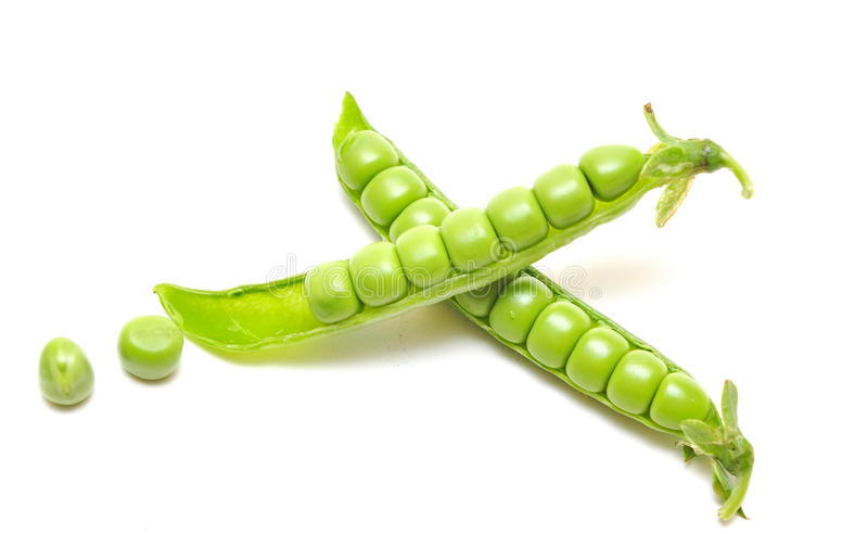 Ripe pea vegetable royalty free stock photography