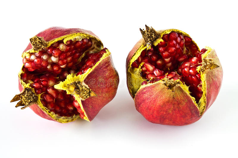 Download Ripe pomegranate stock photo. Image of piece, pink, half - 21636610