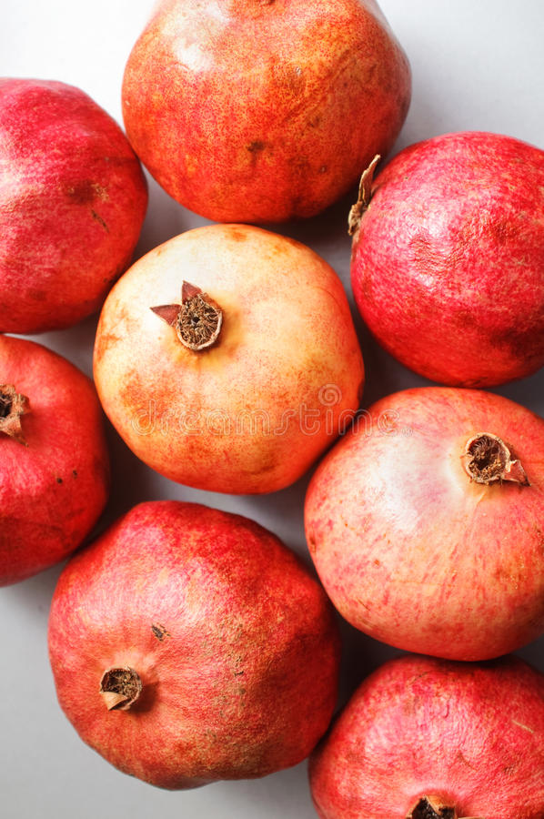 Ripe Pomegranates Stock Images