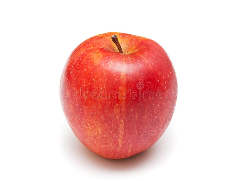 Download Ripe Red Apple. Isolated On  White Stock Image - Image: 18529931