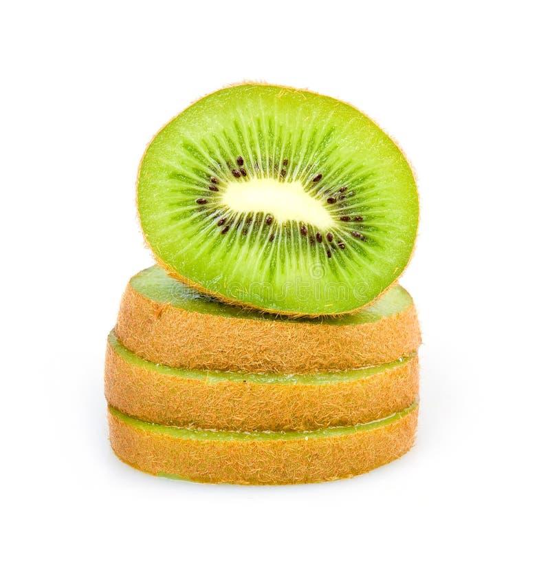 Free Ripe Sliced Kiwi Fruit Isolated Royalty Free Stock Photo - 13141025