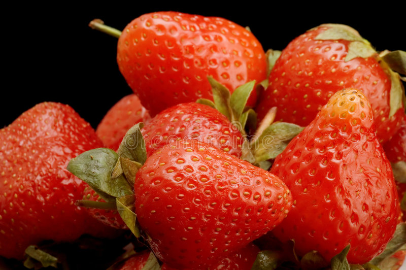 Download Ripe strawberry stock image. Image of nutrition, dessert - 5352927