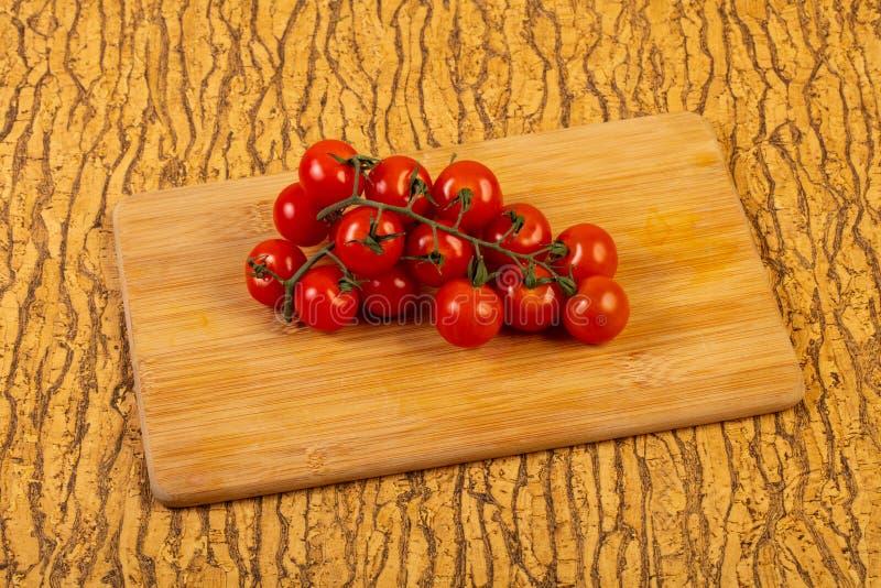 Ripe tomato branch stock photos