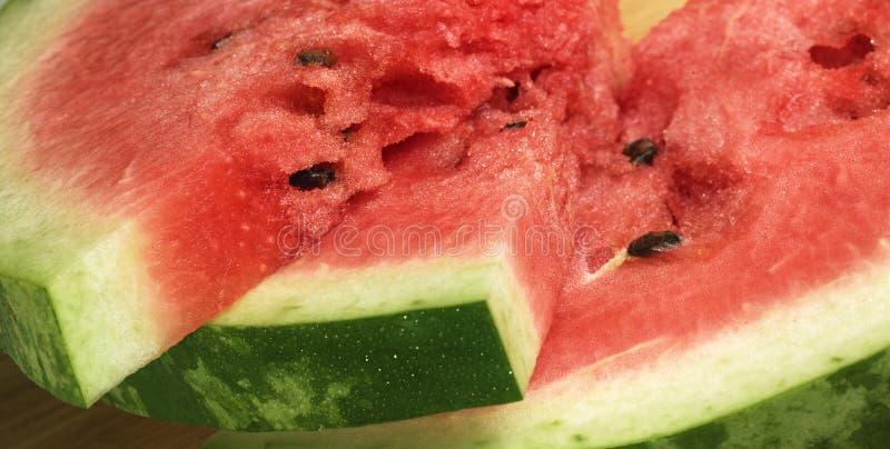 Ripe Watermelon stock photography