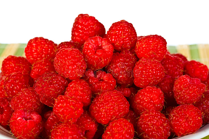 Download Ripe wild raspberries stock image. Image of bunch, eating - 25600937