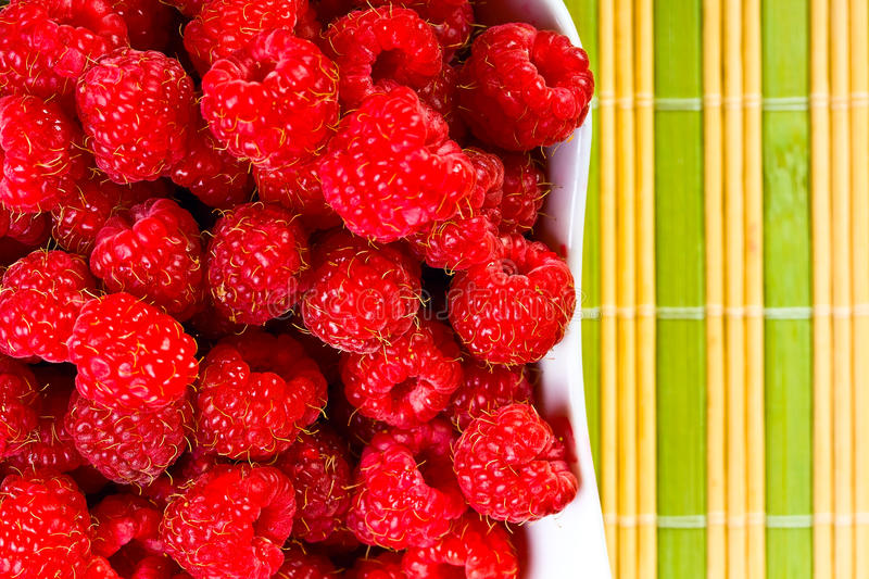 Ripe Wild Raspberries Royalty Free Stock Image