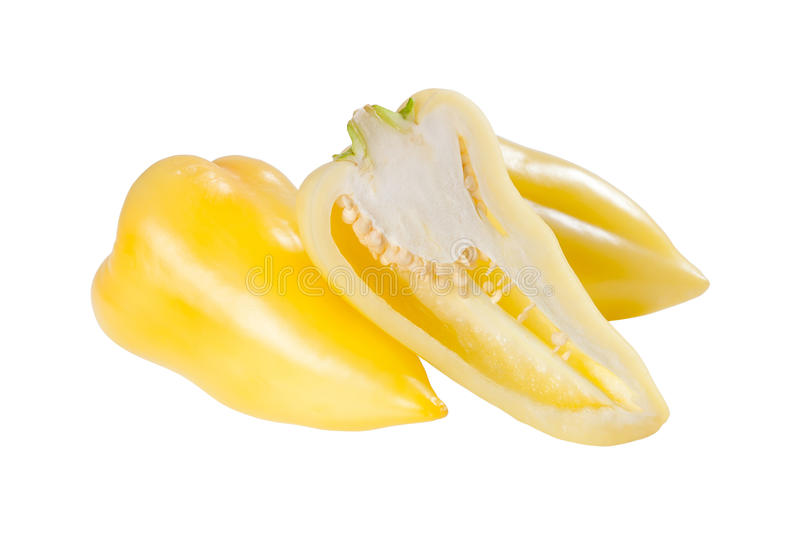 Download Ripe yellow sweet pepper stock photo. Image of green - 26658096