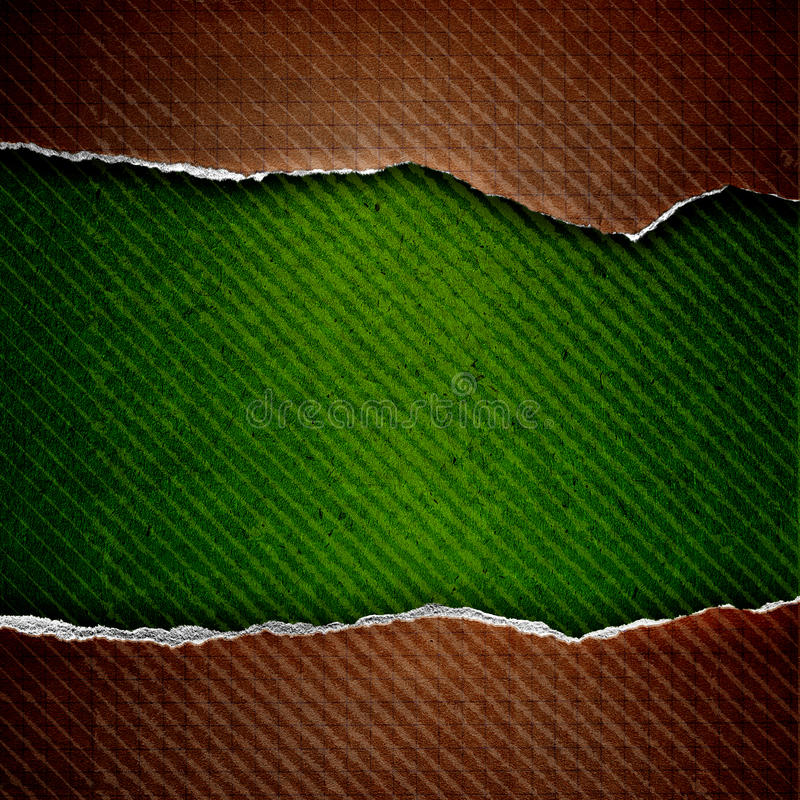 riped komórka papier ilustracji