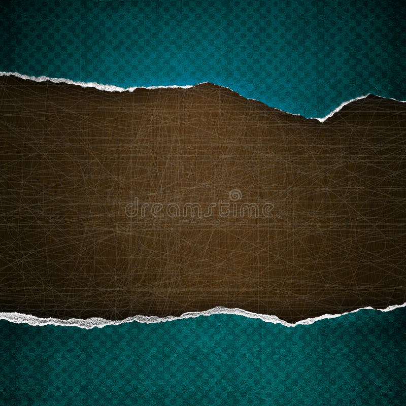 Download Riped vintage paper stock illustration. Image of brown - 23464430