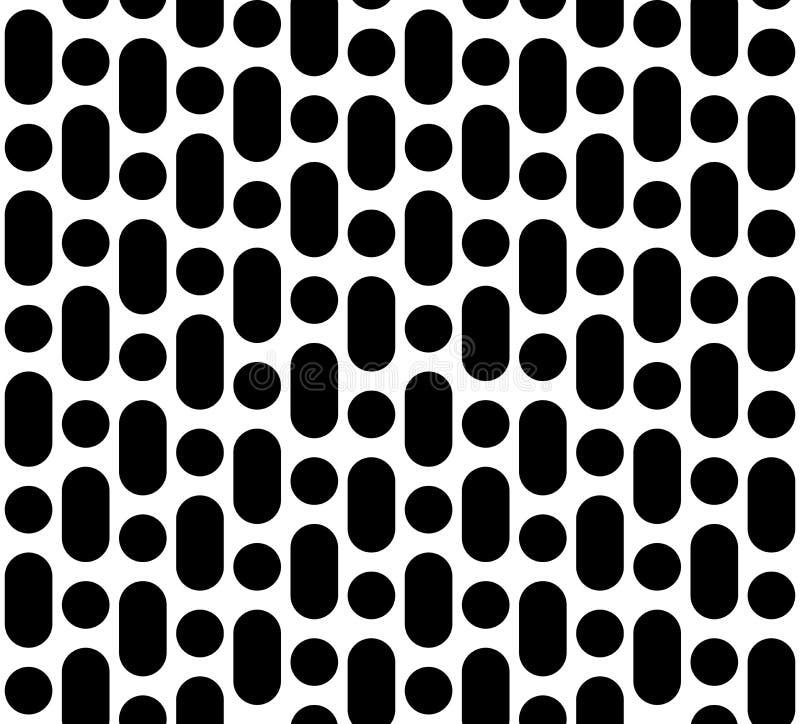 Ripeti la struttura geometrica, le linee arrotondate & i cerchi royalty illustrazione gratis