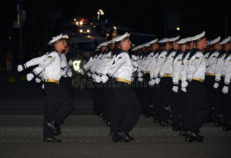 Ripetizione militare di parata immagine stock libera da diritti