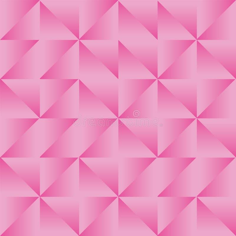 Ripetizione senza cuciture geometrica del modello di Truchet dell'estratto di vettore illustrazione vettoriale