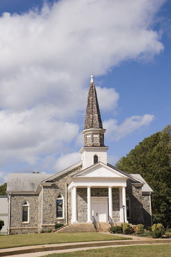 Ripias de piedra de madera de la iglesia imagen de archivo libre de regalías
