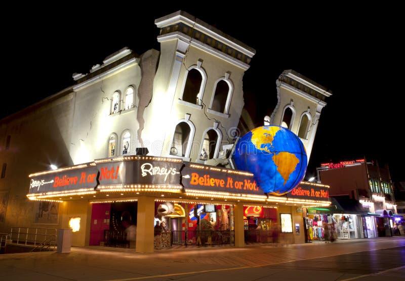 Ripley croient elle ou pas - Atlantic City NJ photographie stock