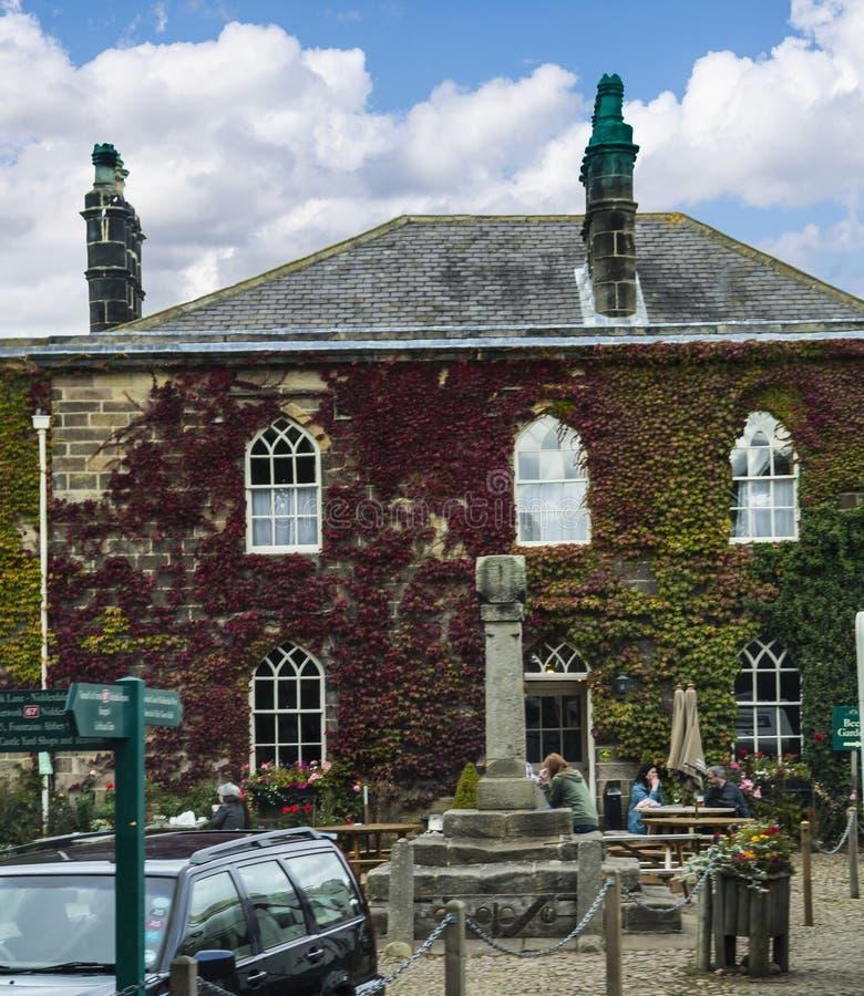 Ripley ist ein Dorf und eine Zivilgemeinde in North Yorkshire in England, einige Meilen nördlich Harrogate Ein herrührend vones S lizenzfreie stockfotos