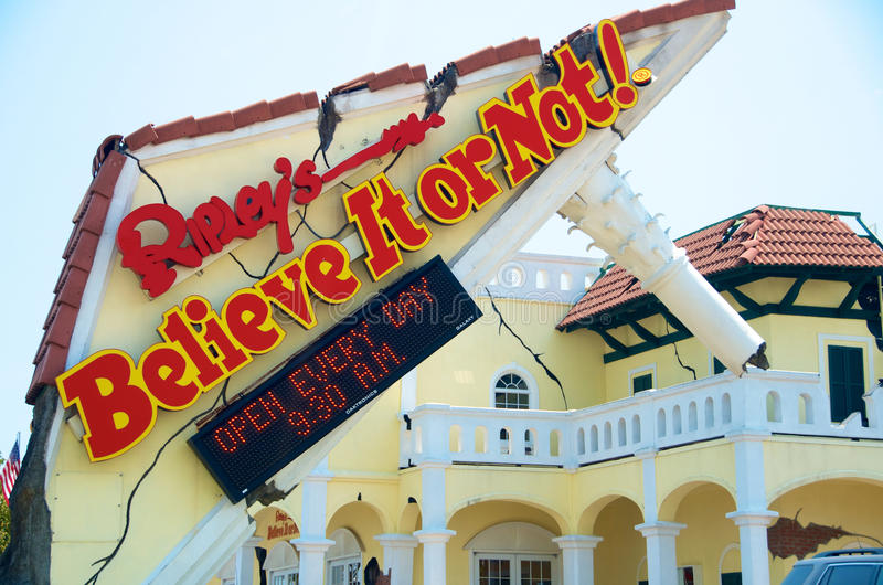Ripleys Believe it or Not in Branson MO stock photography