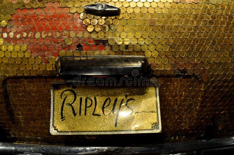 Ripleys lo crede oppure no fotografia stock libera da diritti
