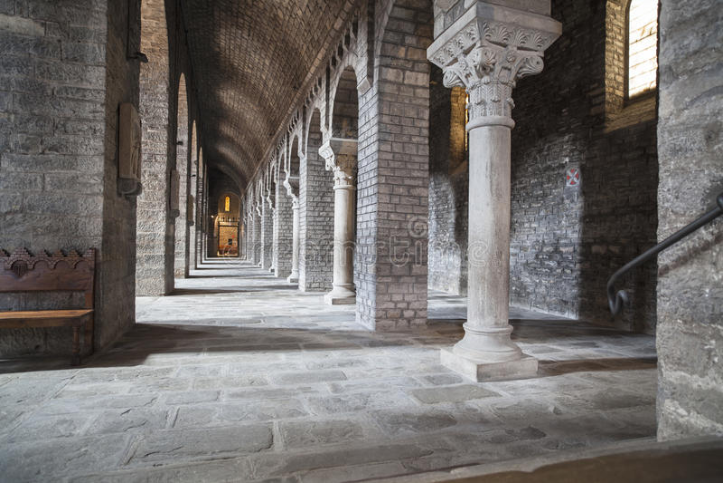Ripoll, Catalonia, Hiszpania zdjęcia royalty free