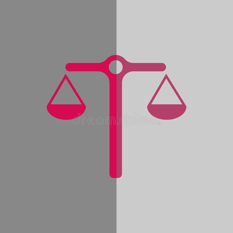 Riporta in scala la progettazione piana di vettore dell'icona dell'illustrazione delle azione dell'illustrazione di riserva di ve illustrazione vettoriale