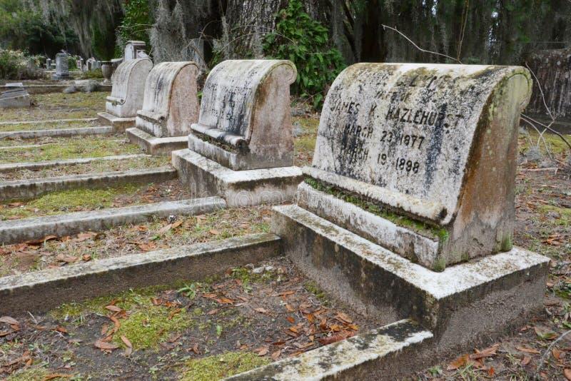 A riposo in Bonaventure Cemetery fotografie stock libere da diritti