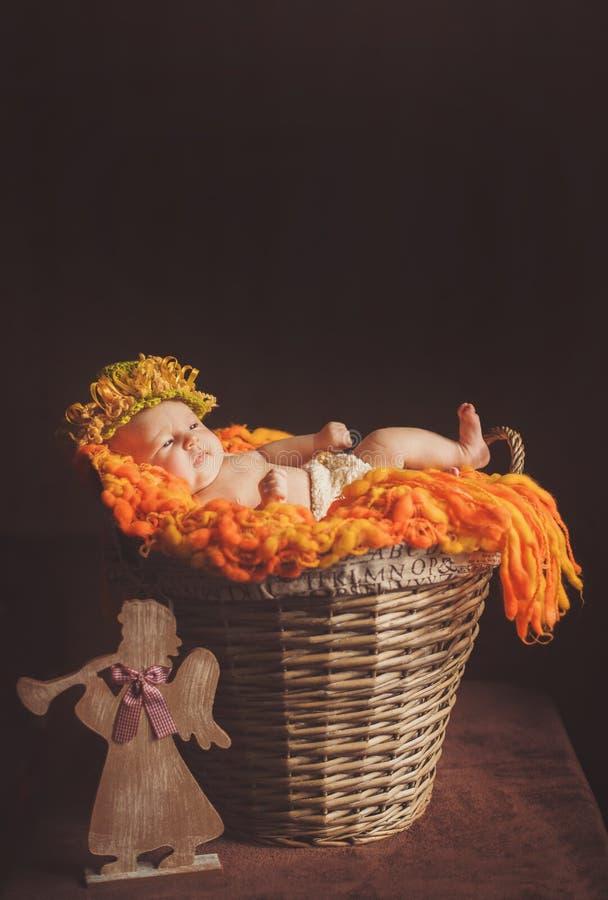 Riposo del neonato immagine stock libera da diritti