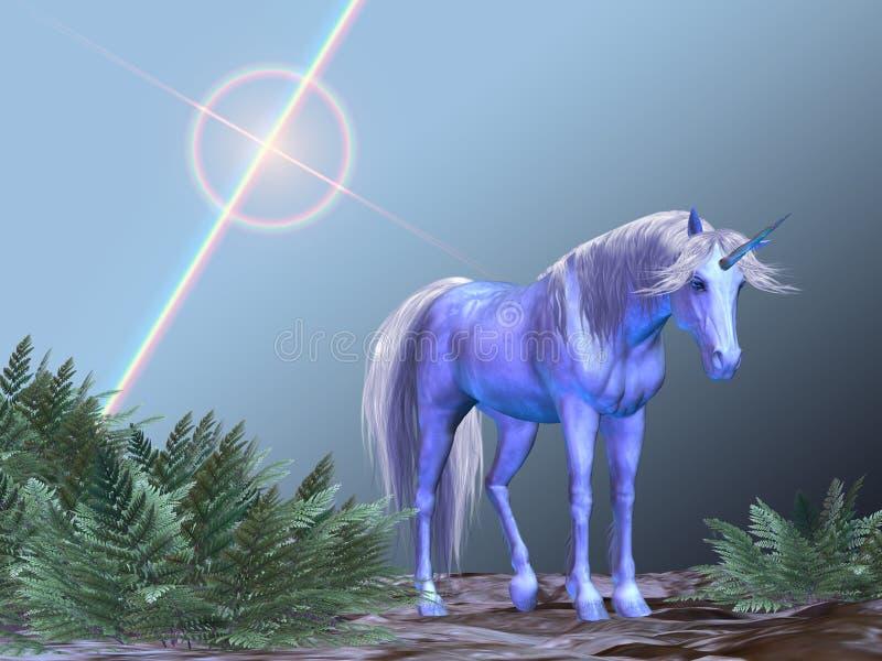 Riposo dell'unicorno fotografia stock libera da diritti