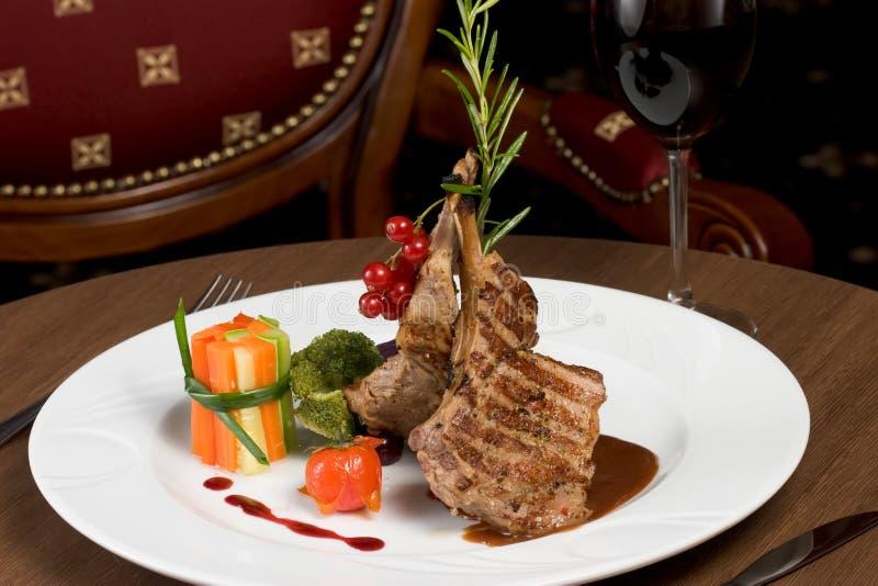 Rippe-Steak stockbild
