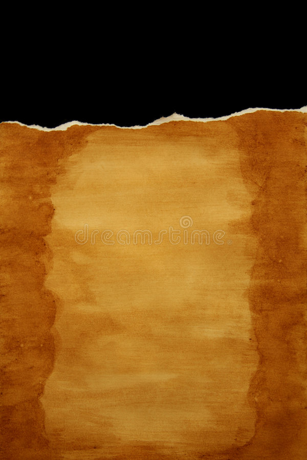 Ripped paper background stock illustration