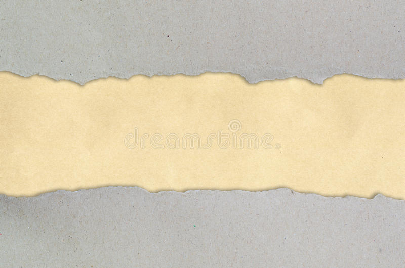 Download Ripped Paper On Brown Background Stock Image - Image: 22819731
