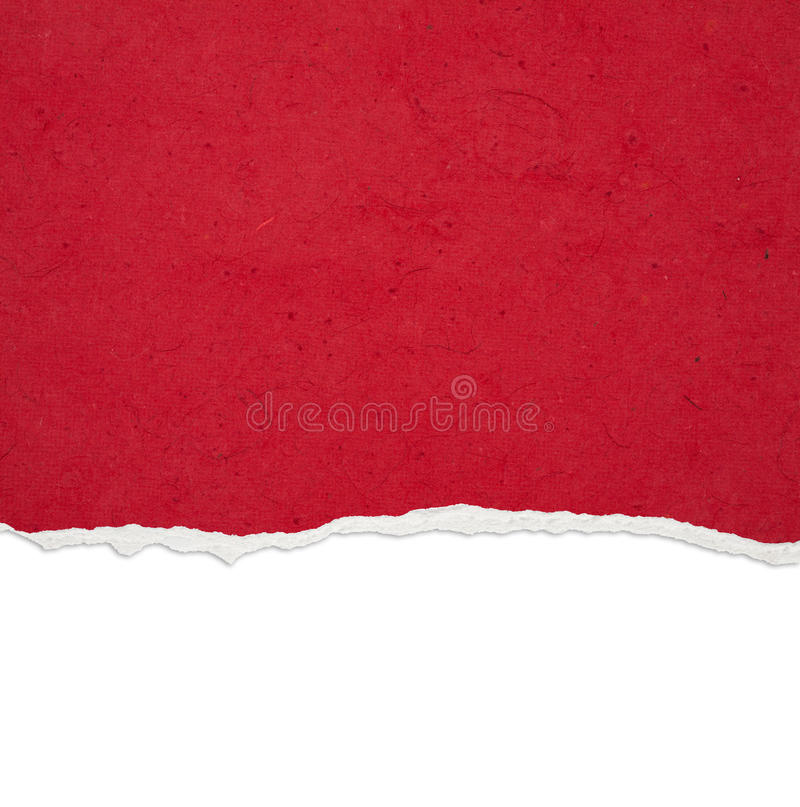 Ripped paper. With free space for text royalty free stock photos