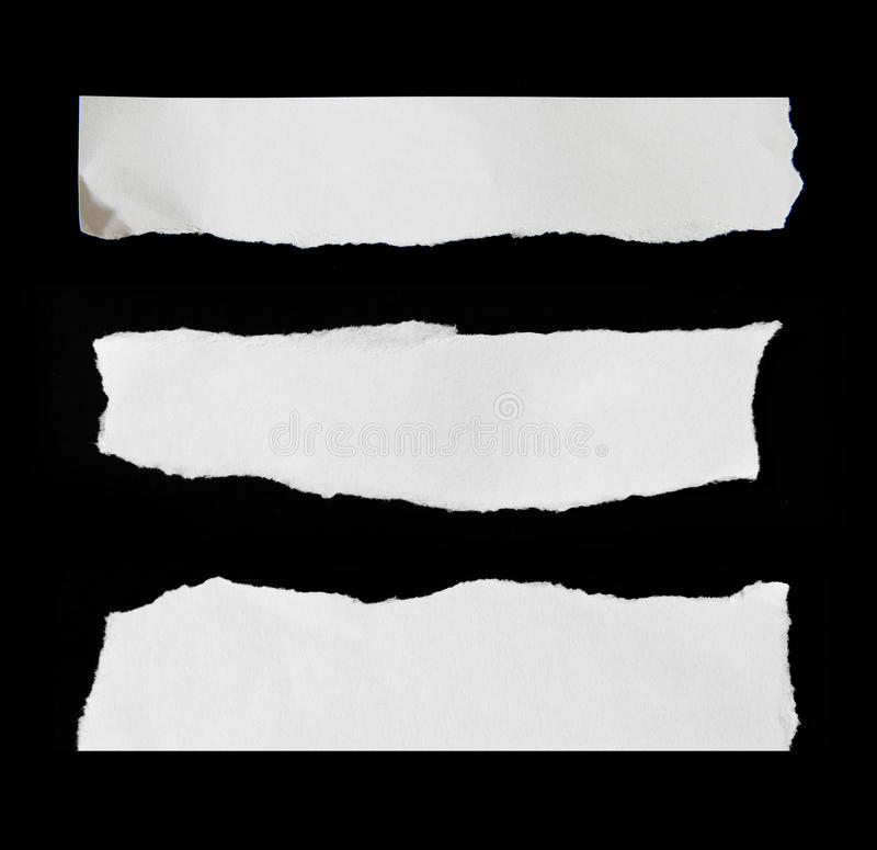 Ripped paper. Space for copy stock photos