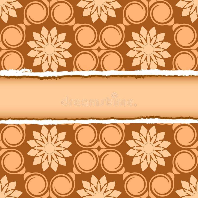 Ripped seamless wallpaper vector illustration