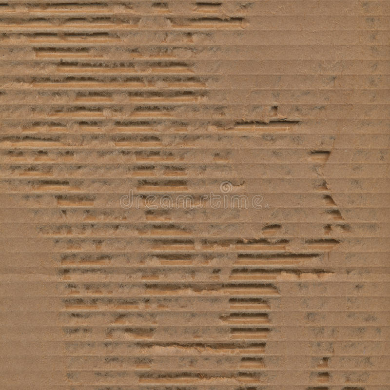 Ripped Torn Cardboard Texture Background Royalty Free Stock Image