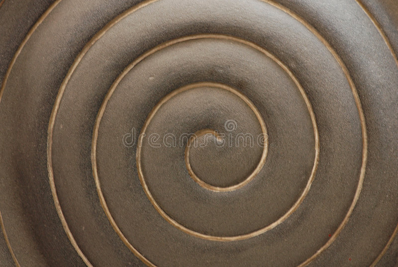 Ripple sculpture royalty free stock photo