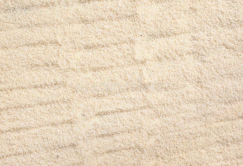 Rippled beach sand texture stock photo