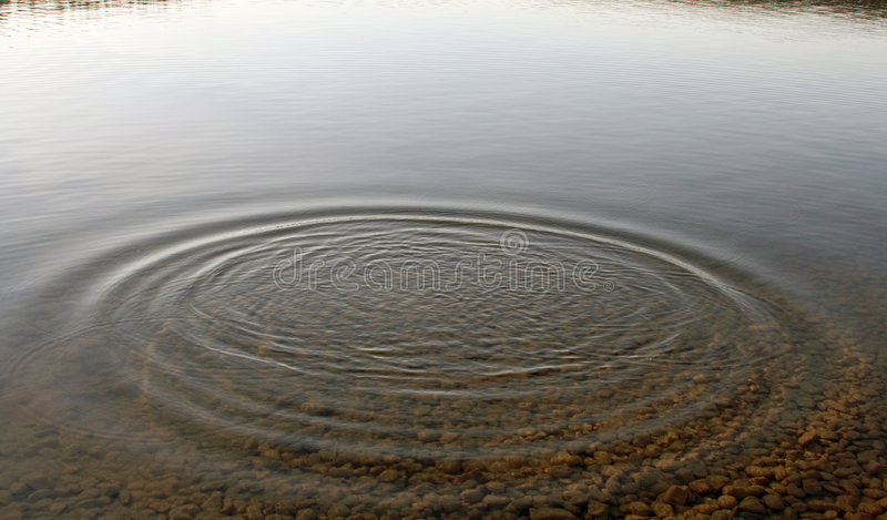 Ripples royalty free stock photography