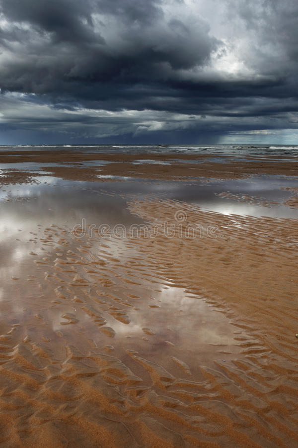 Ripples, Balmedie beach stock photos