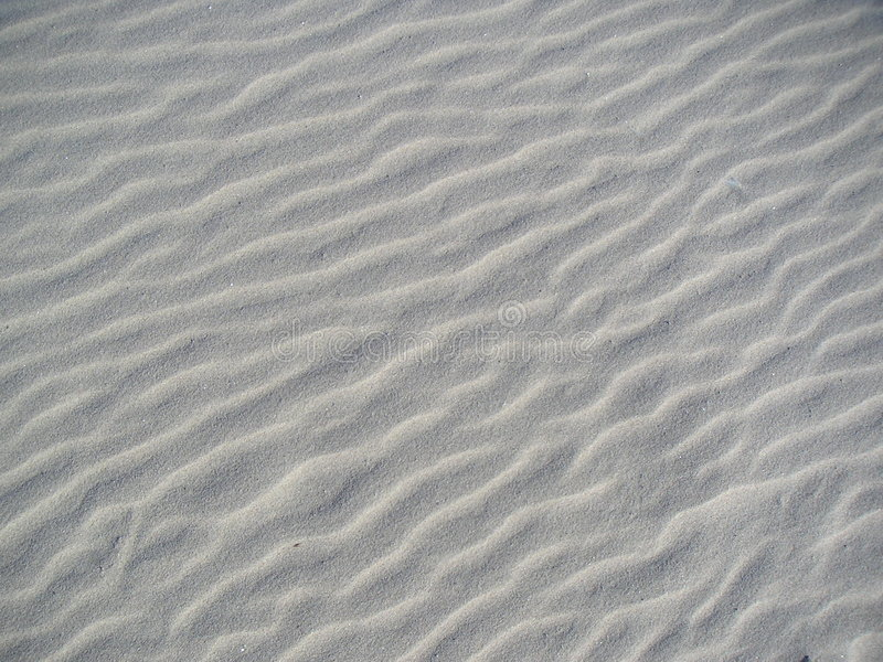Ripples marks on sand royalty free stock image