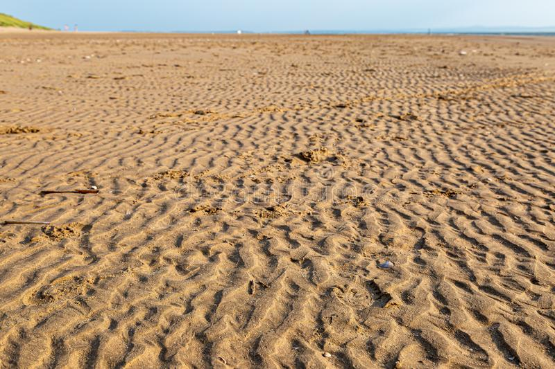 Rippled Sand royalty free stock images