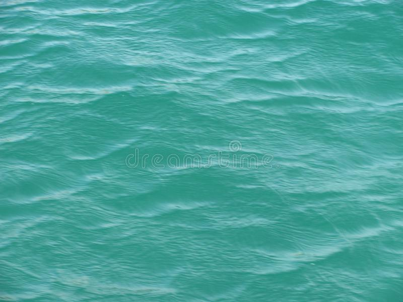 Ripples on the water. Somewhere in the Black Sea royalty free stock photography